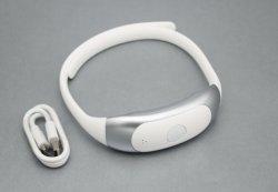Newowo pulso elétrico portátil sem fio inteligente 3D Gargalo de Sílica Gel Massajador no alívio da dor para Home/Office/sport/Carro/Travel