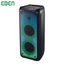 2020 PA DJ profesional de Altavoces portátiles recargables Bluetooth Audio ED-505 con efecto fuego