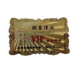 Espejo reflectante de oro grabado con láser placa de identificación personal de negocios