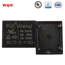 가전 및 용 Wl73 T73 파워 릴레이 자동 릴레이 산업용 PCB 릴레이 접촉 감도 스위치