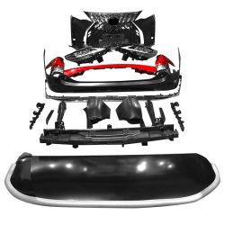 Audo PP Body Kit Car Grille parachoques delantero y trasero Parachoques para Elfa Weirfa recolocado en el parachoques de Lm300 Body Kit Guardia