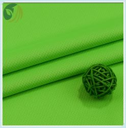 Nieuw Polyester Knitting Birds Eye Fabric for Sports T-shirt