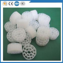 مواد طباعة مزودة بعامل تصفية حيوي بحجم 25*12 مم مزودة بسرير متحرك K1 K3 Mbbr Bio Filter Media