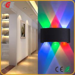 LED moderne Wall Lamp 2W 4W 6W 8W 12W bougeoirs muraux escalier intérieur l'éclairage mural Montage Moniteur de chevet Loft Salon haut bas Accueil couloir
