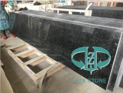 Black Diamond de granito chinês do granito polido/Antique/Leathering Terminar