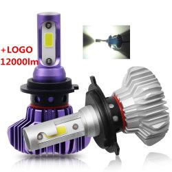 Los faros de automóviles 6500K 8000LM Faro S9 H11 H4 H7 LED LED Auto Faros de xenón