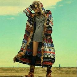 As mulheres grossista Coat Casaco de Lã Lady Garment