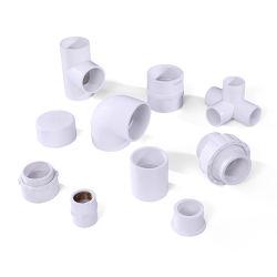 Taizhou China Rohrverschraubungen PVC-Ellenbogen-Verbindung Integrale Buchse Lieferant Erheblicher Rabatt