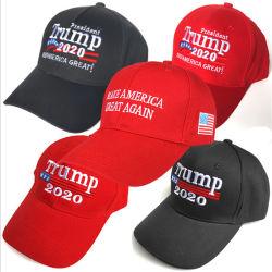 Election Trump卸売の2020年の大統領の野球帽の共和党の野球帽の調節可能なたくわえアメリカの大きい刺繍された帽子
