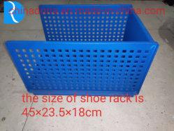 Gebraucht Double-Deck Schuh-Zahnstangen-Plastikspritzen/Form Haus-Verwenden