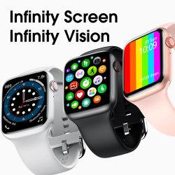 Mobiele Androïde Reeks 6 van het Horloge van Iwo van het Horloge Smartphone Tw26 PRO Slimme de 44mm Magnetische Ladende Monitor van het Tarief van het Hart Mobiele Toebehoren