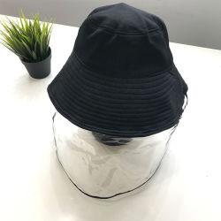 Schutzkappe mit PVC-Abschirmung Full Face Cover Cap Virus Maske