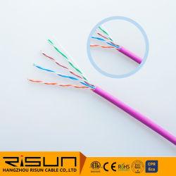 LAN-kabel voor fabrieksuitgang 24 AWG-Bare koper UTP Cat5e