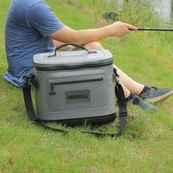 حقيبة مبرد بالتنزه بالبوليستر تحمل جعة ونبيذ معقم لمدة Camping Travel