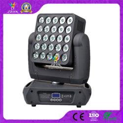 DJ Disco DMX 25X12 W RGBW 4in1 Moving Head LED-Bühne Blinder