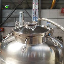 Réservoir de stockage d'eau cuve de fermentation 1000L stockage d'huile en acier inoxydable Réservoir
