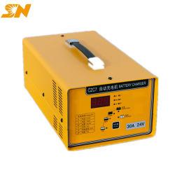 Shineng Czc7 12V 24V 48V 10A 20A 30A Hochfrequenzaufladeeinheit