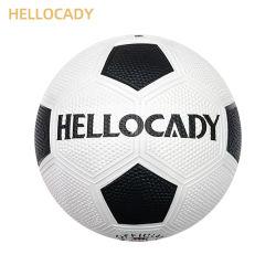 La formación de tamaño 5 Oficial Hellocady superficie guijarro pelota de fútbol de goma
