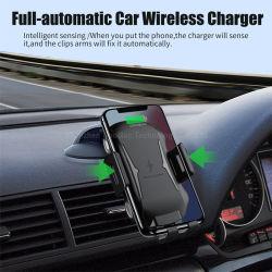 Venda por grosso de acessórios móveis 15W para montagem em automóvel rápido carregamento sem fio Carregador de Telefone Sem Fio com IMC de carro