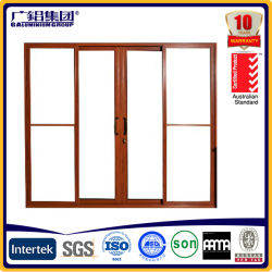 Elevación de aluminio y Puerta corrediza puerta deslizante Heatproof /