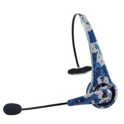 El mejor teléfono de la Oficina de Skype estéreo auriculares Bluetooth para Call Center