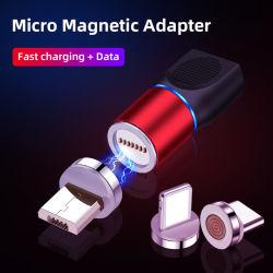 Mini portable Date de l'adaptateur de charge magnétique IOS pour le câble USB