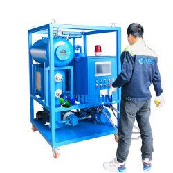 Entièrement automatique de l'huile de la turbine de dépression de la déshydratation purificateur
