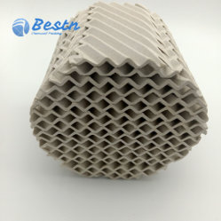Ceramische Gestructureerde Verpakking met Goede Weerstand als Media van de Overdracht van de Massa
