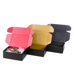 Kundenspezifische Druckservice-Großhandelsfarben-kleiner Wellpappen-verpackenwerbung Krfat Papiergeschenk-Verschiffen-Kasten für Gleichheit/Socken/Kosmetik