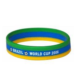 Завод Custom Company Рекламные продукты силиконовый браслет Печать Logo Glow В Dark Rubber Band Energy Bracelets for Сувенирное продвижение Позиция(99)