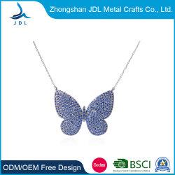 Новых современных бестселлеров специальный дизайн украшения голубой ожерелье в форме бабочки (24)