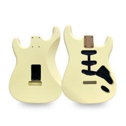 DIY terminado la mitad de la fabricación de kits de guitarra guitarra eléctrica