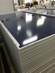 Runsol PV ألواح وحدات الطاقة الشمسية الزجاجية المزدوجة بقدرة 335 واط بقدرة 340 واط 345W 350W TUV IEC ISO MCS ثلاثي الخلايا الكهروضوئية باللون الأسود Tier1 مصنع مصنعي تصنيع المعدات الأصلية (OEM) Suntech Trina 120cells