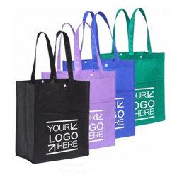 Tissu recyclables Shopping Tote transporter personnalisé Sac PP non tissé