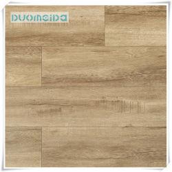 Klikt het Commerciële Vinyl die van de Decoratie van het huis Waterdicht pvc van de Tegel behandelen Vuurvaste SPC Lvt van de Bevloering
