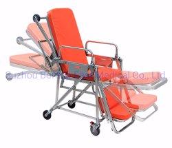مستشفى طبّيّ إرتفاع عربة قابل للتعديل صبور طارئ سيّارة نقّالة حامل متحرّك