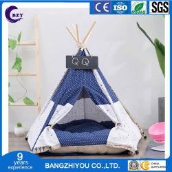 Le Pet tente de petites et moyennes Chenil Cat chenil chenil Pet en bois de tissu de toile