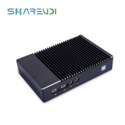 Mini CPU di Quadrato-Memoria del calcolatore del PC di Fanless AMD Nuc per il contrassegno di HTPC Digitahi