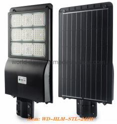 Super Bright Lumen 240W Solar Road lamp IP65 All-in Eén sensor LED-zonneverlichting