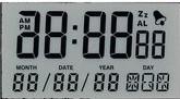 Digits LCD-Bildschirmanzeige Tn-4X1 für Kraftstoff-Zufuhr