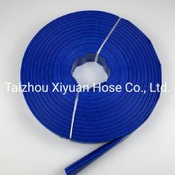 أنبوب تفريغ مسطح PVC رري مرن بطول 50 م في أربعة بار