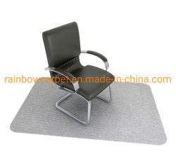 친환경 미끄럼 방지 내구성 있는 맞춤형 디자인 블랙 오피스 의자 매트 하드우드 및 타일 플로어