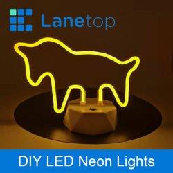 Силиконовая складная неон светодиодный индикатор полосы