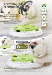 Chat interactif Pet Toy avec rotation électronique vers le bas