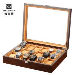 Hot-Sale 18 Ranuras Cuadro de relojes de madera procedentes de China