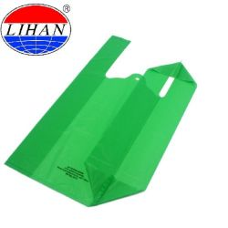 試供品100%の生物分解性のTシャツのプラスチックハンドルは食料雑貨のパッケージのショッピング・バッグのための袋を運ぶ
