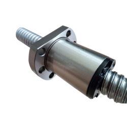 CNC kogelbout SFs 1616 Sfs1620 met eindbewerking + Kogelmoer Sfs1620
