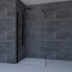Luxe getemperde 6mm glazen douchedeur eenvoudige badkamer kamer (WK04)