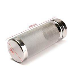 7.1X30cm, 7.1X18cm roestvrij stalen biervat Dry Hopper Home Bier Brewing Filter