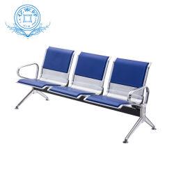 공항 병원 은행 사무실을%s 스테인리스 3 Seater 수신 의자 갱 의자 링크 의자 금속 강철 기다리는 의자